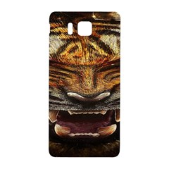 Tiger Face Samsung Galaxy Alpha Hardshell Back Case by BangZart