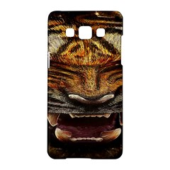 Tiger Face Samsung Galaxy A5 Hardshell Case  by BangZart