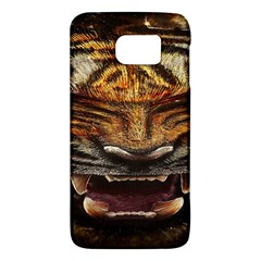 Tiger Face Galaxy S6 by BangZart