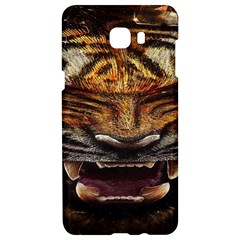 Tiger Face Samsung C9 Pro Hardshell Case  by BangZart