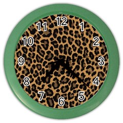 Tiger Skin Art Pattern Color Wall Clocks by BangZart