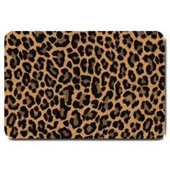 Tiger Skin Art Pattern Large Doormat