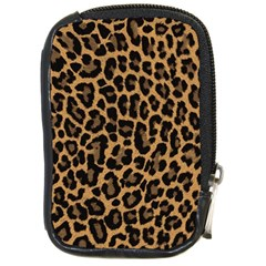Tiger Skin Art Pattern Compact Camera Cases by BangZart
