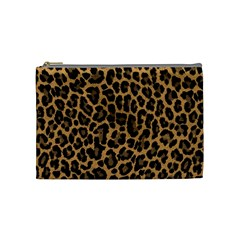 Tiger Skin Art Pattern Cosmetic Bag (medium)