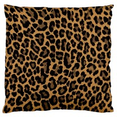 Tiger Skin Art Pattern Large Cushion Case (one Side)