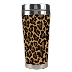 Tiger Skin Art Pattern Stainless Steel Travel Tumblers by BangZart