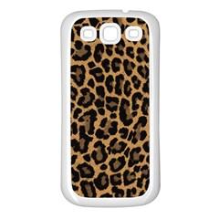 Tiger Skin Art Pattern Samsung Galaxy S3 Back Case (white)