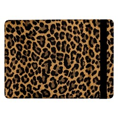 Tiger Skin Art Pattern Samsung Galaxy Tab Pro 12 2  Flip Case
