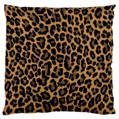 Tiger Skin Art Pattern Large Flano Cushion Case (one Side) by BangZart