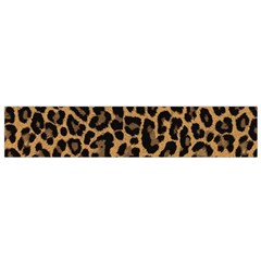 Tiger Skin Art Pattern Flano Scarf (small)