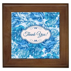 Thank You Framed Tiles by BangZart