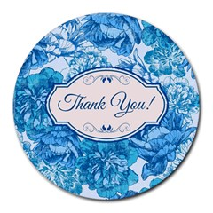 Thank You Round Mousepads by BangZart