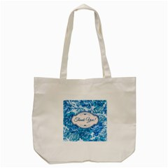 Thank You Tote Bag (cream) by BangZart