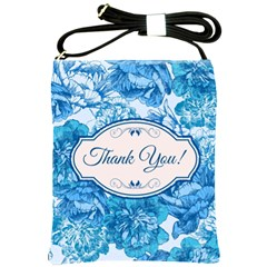 Thank You Shoulder Sling Bags by BangZart