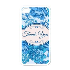 Thank You Apple Iphone 4 Case (white) by BangZart