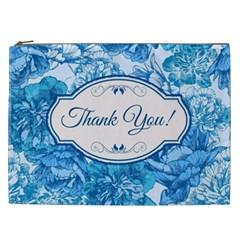 Thank You Cosmetic Bag (xxl)  by BangZart