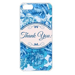 Thank You Apple Iphone 5 Seamless Case (white) by BangZart