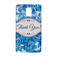 Thank You Samsung Galaxy Note 4 Hardshell Case by BangZart