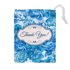 Thank You Drawstring Pouches (extra Large) by BangZart
