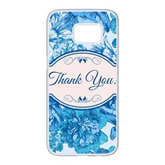 Thank You Samsung Galaxy S7 Edge White Seamless Case