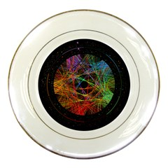 The Art Links Pi Porcelain Plates by BangZart