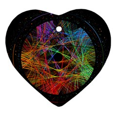 The Art Links Pi Heart Ornament (two Sides) by BangZart