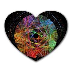 The Art Links Pi Heart Mousepads by BangZart