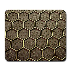 Texture Hexagon Pattern Large Mousepads