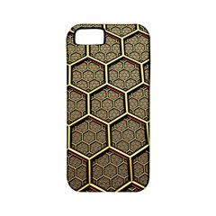 Texture Hexagon Pattern Apple Iphone 5 Classic Hardshell Case (pc+silicone) by BangZart