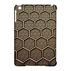 Texture Hexagon Pattern Apple Ipad Mini Hardshell Case (compatible With Smart Cover) by BangZart