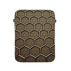 Texture Hexagon Pattern Apple Ipad 2/3/4 Protective Soft Cases by BangZart