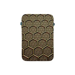Texture Hexagon Pattern Apple Ipad Mini Protective Soft Cases