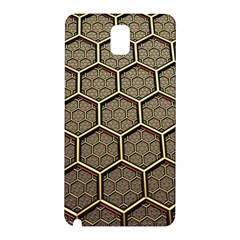 Texture Hexagon Pattern Samsung Galaxy Note 3 N9005 Hardshell Back Case