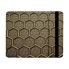 Texture Hexagon Pattern Samsung Galaxy Tab Pro 8 4  Flip Case