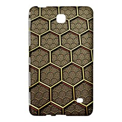 Texture Hexagon Pattern Samsung Galaxy Tab 4 (8 ) Hardshell Case  by BangZart