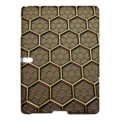 Texture Hexagon Pattern Samsung Galaxy Tab S (10 5 ) Hardshell Case  by BangZart