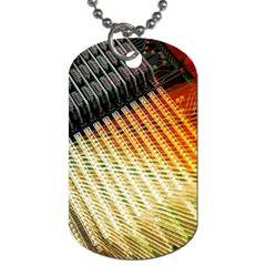 Technology Circuit Dog Tag (one Side) by BangZart