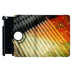 Technology Circuit Apple Ipad 3/4 Flip 360 Case by BangZart
