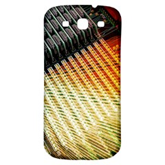 Technology Circuit Samsung Galaxy S3 S Iii Classic Hardshell Back Case by BangZart