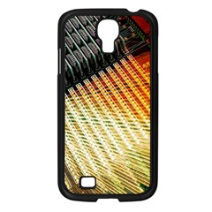 Technology Circuit Samsung Galaxy S4 I9500/ I9505 Case (black) by BangZart