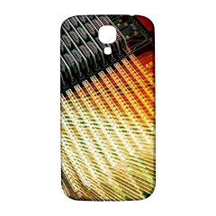 Technology Circuit Samsung Galaxy S4 I9500/i9505  Hardshell Back Case by BangZart