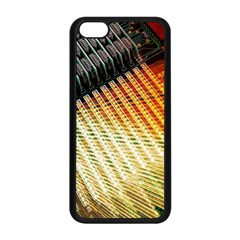 Technology Circuit Apple Iphone 5c Seamless Case (black) by BangZart