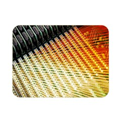 Technology Circuit Double Sided Flano Blanket (mini)  by BangZart