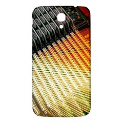 Technology Circuit Samsung Galaxy Mega I9200 Hardshell Back Case by BangZart