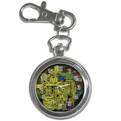 Technology Circuit Board Key Chain Watches