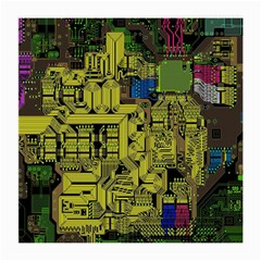 Technology Circuit Board Medium Glasses Cloth (2 Side) by BangZart