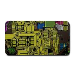 Technology Circuit Board Medium Bar Mats by BangZart