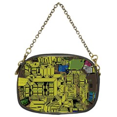 Technology Circuit Board Chain Purses (two Sides)  by BangZart