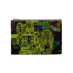 Technology Circuit Board Cosmetic Bag (medium)  by BangZart