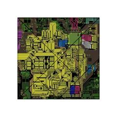 Technology Circuit Board Acrylic Tangram Puzzle (4  X 4 ) by BangZart